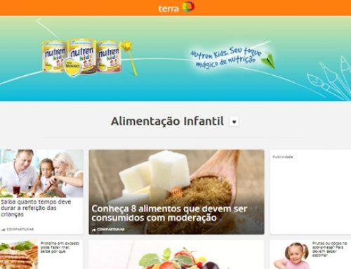 Site Terra Alimentação Infanti